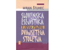 SLOVENSKA ESEJISTIKA v 2/2 20.stol.