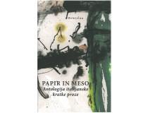 PAPIR IN MESO Antologija italijanske kratke proze
