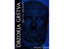OBZORJA GRŠTVA Logos in bit v grški filozofiji