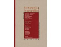 PHAINOMENA 53-54 HERMENEVTIKA IN HUMANISTIKA I